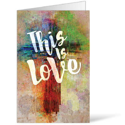 Picture of This is Love Easter Regular Size Bulletin