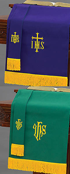 Reversible Bookmark & Pulpit Scarf Set (Economy)
