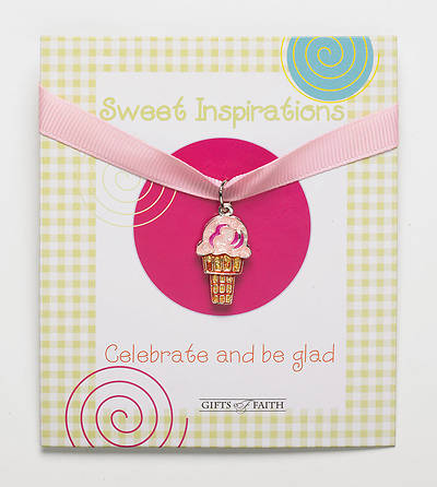 Picture of Charm with Ribbon: Ice Cream Cone