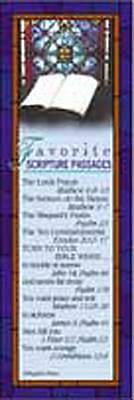 Favorite Scripture Passages Bookmark (Pkg of 25)