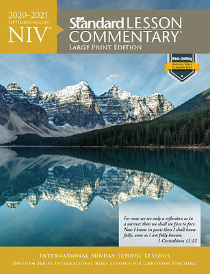 Picture of NIV Standard Lesson Commentary Large Print 2020-2021
