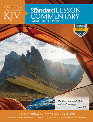 Picture of KJV Standard Lesson Commentary Large Print 2021-2022