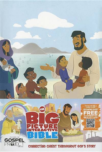 The Big Picture Interactive Bible for Kids, Nativity Edition Leathertouch