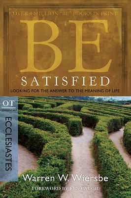 Picture of Be Satisfied (Ecclesiastes)