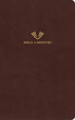 Picture of Rvr 1960 Biblia del Ministro, Marrón Piel Fabricada