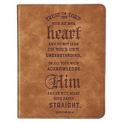 Picture of Journal Handy Luxleather Trust in the Lord - Prov 3