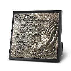 Moments of Faith Sculpture Plaques - Lords Prayer