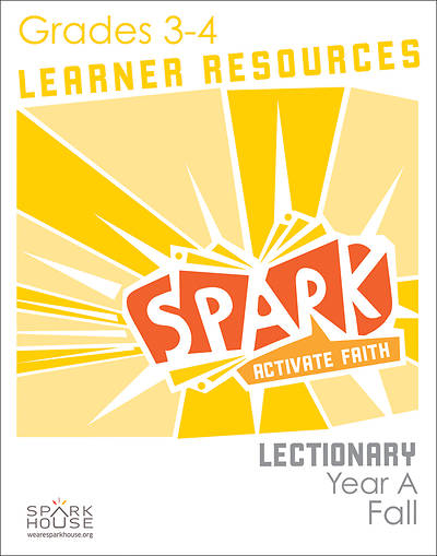 Spark Lectionary Grades 3-4 Learner Leaflet Fall Year A