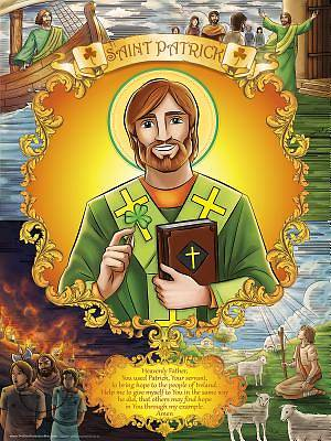 Picture of Poster - Saint Patrick
