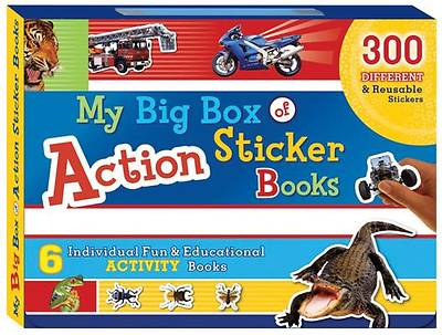 My Big Box of Action Sticker Books