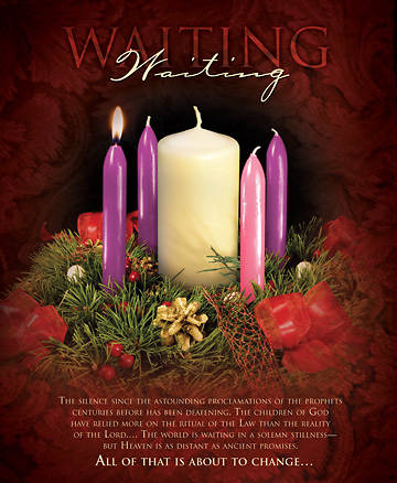 Advent Week 1/Waiting Bulletin, Large (Package of 100)