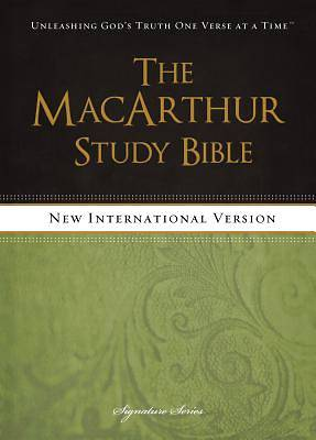 The MacArthur Study Bible, NIV [ePub Ebook]