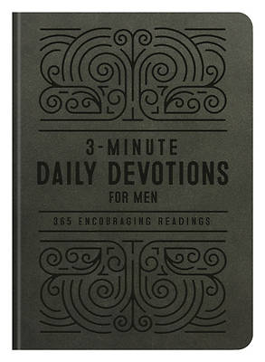 Picture of 3-Minute Daily Devotions for Men