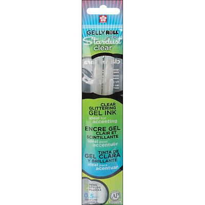 Stardust Clear Sparkle Gelly Roll Pen-2 Pack