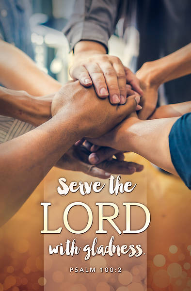 Serve the Lord Regular Size Bulletin