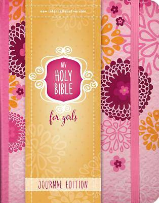 NIV My Journal Bible, Hardcover, Pink, Elastic Closure