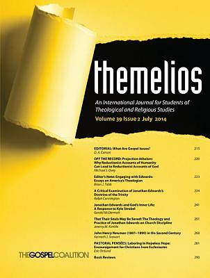 Picture of Themelios, Volume 39, Issue 2