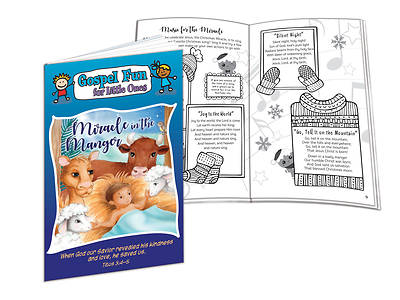 Picture of Miracle in the Manger Christmas Gospel Fun Activity Book