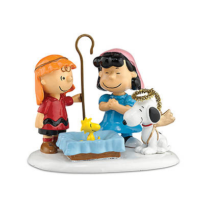 Peanuts Village Nativity Pageant Figurine