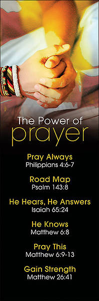 Picture of The Power of Prayer Bookmark Bookmark