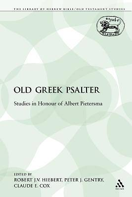The Old Greek Psalter
