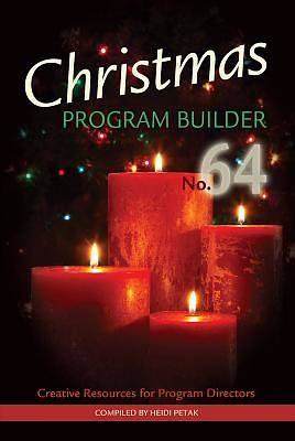 Christmas Program Builder No. 64 Drama Book