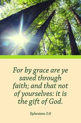 Picture of By Grace Bulletin (Pkg 100) General Worship