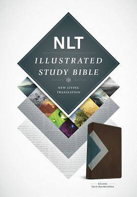 Picture of Illustrated Study Bible NLT, Tutone