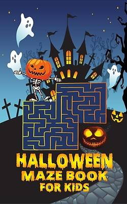 Picture of Halloween maze book for kids