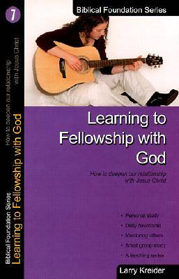 Picture of Learning to Fellowship with God