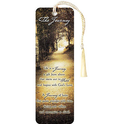 The Journey Tassel Bookmark