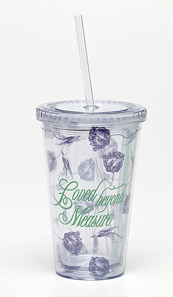 Picture of Loved Beyond Measure: Insulated Tumbler with Straw