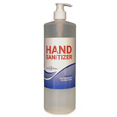 Picture of Americlean Hand Sanitizer Gel - 32 oz. Pump Bottle
