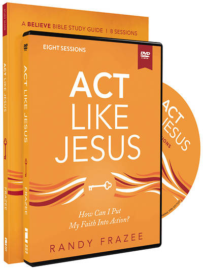Picture of Act Like Jesus Study Guide with DVD