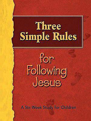 Three Simple Rules for Following Jesus Leaders Guide - eBook [ePub]