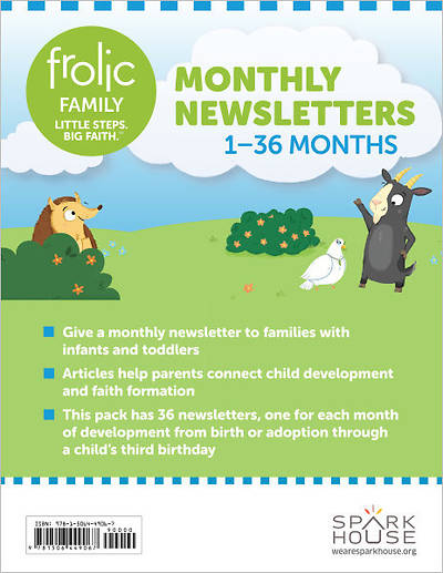 Picture of Frolic Family Monthly Newsletters Birth-Age 3