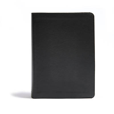 Picture of CSB He Reads Truth Bible, Black Leathertouch Indexed