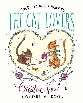 Picture of The Cat Lover's Creative Soul Coloring Book