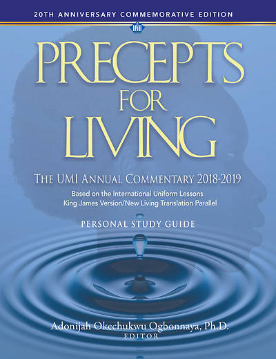 Picture of Precepts for Living Workbook 2018-2019
