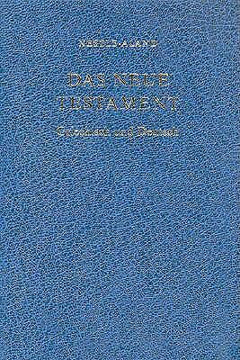 Greek German Bilingual New Testament-PR-FL-Nestle-Aland/German
