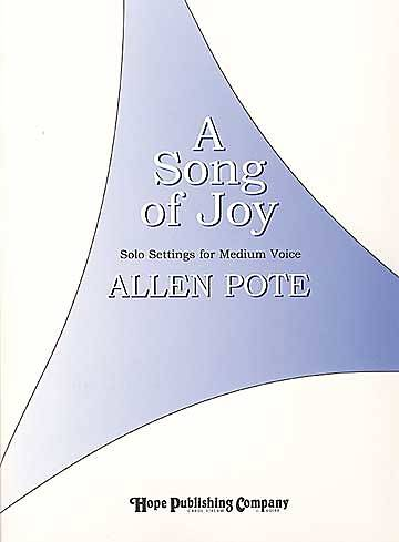 A Song of Joy Vocal Solo Book