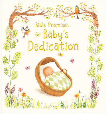 Picture of Bible Promises for Baby's Dedication