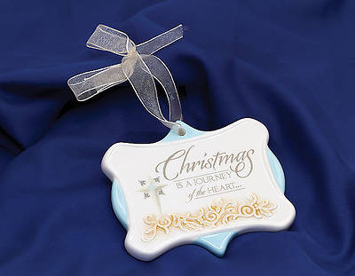 """Christmas is a Journey"" Ornament"