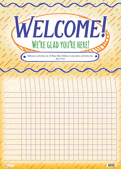 Picture of Welcome Kid's Attendance Chart