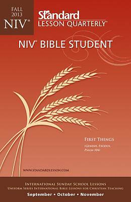 Standard Lesson Quarterly Adult NIV Bible Student Book Fall 2013
