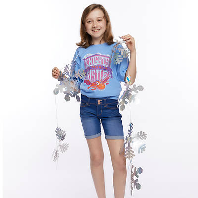 Picture of Vacation Bible School (VBS) 2020 Knights of North Castle Holographic Snowflake Garland