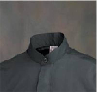 Abbey Long Sleeve Clergy Shirt with Neckband Collar