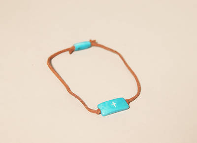 Picture of 1 Wish Bracelet - Aqua