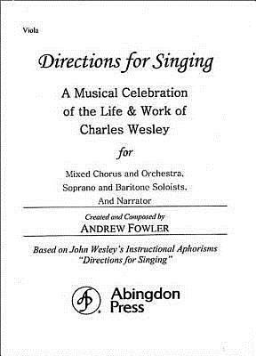 Directions for Singing - Viola
