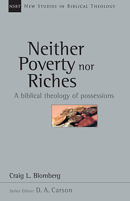 Neither Poverty or Riches